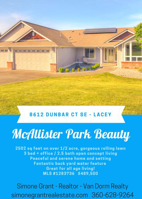 8612 Dunbar Ct SE - Lacey